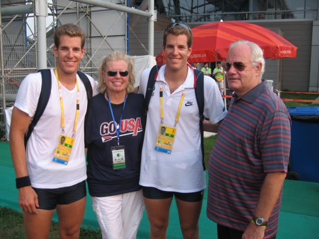 Winkelvoss family 2008 Beijing Olympics - Shunyi Rowing Course - 227