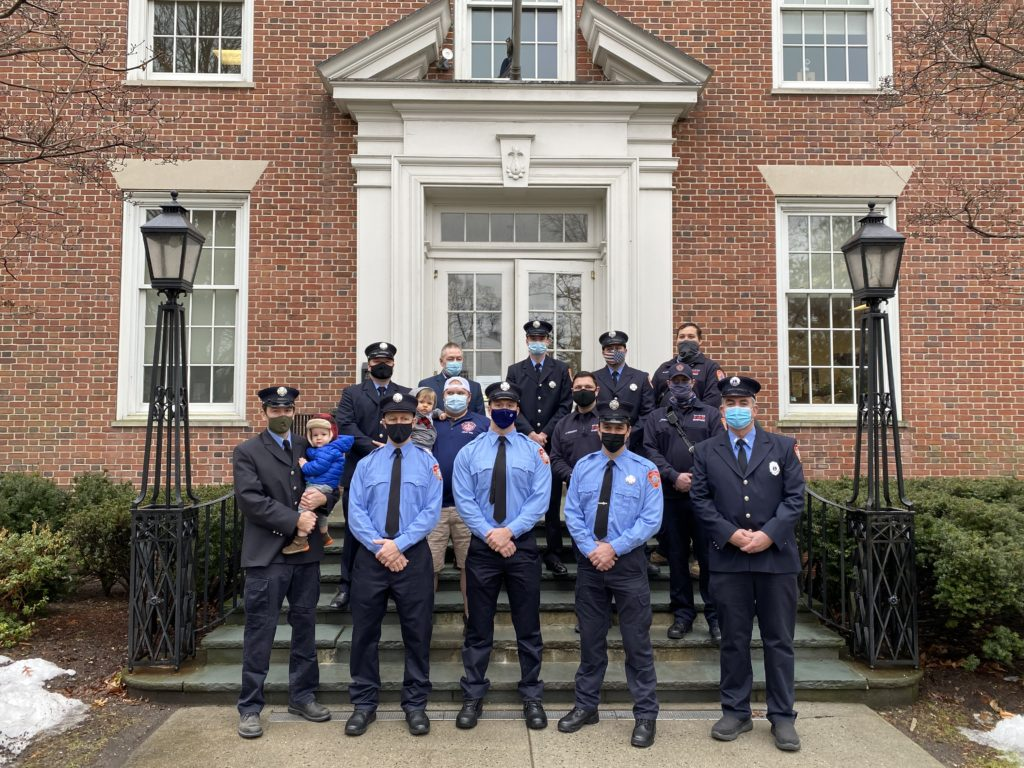 Rye FD at the March 1, 2021 Swearing In