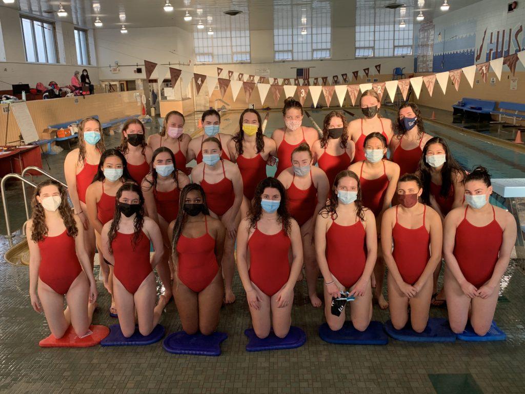 Rye Girls Varsity Swimming & Diving Team 2021