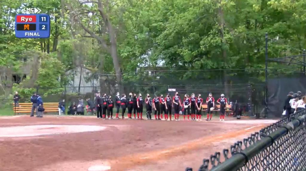 Girls Varsity Softball 05-10-2021 vs. Mamaroneck - 1