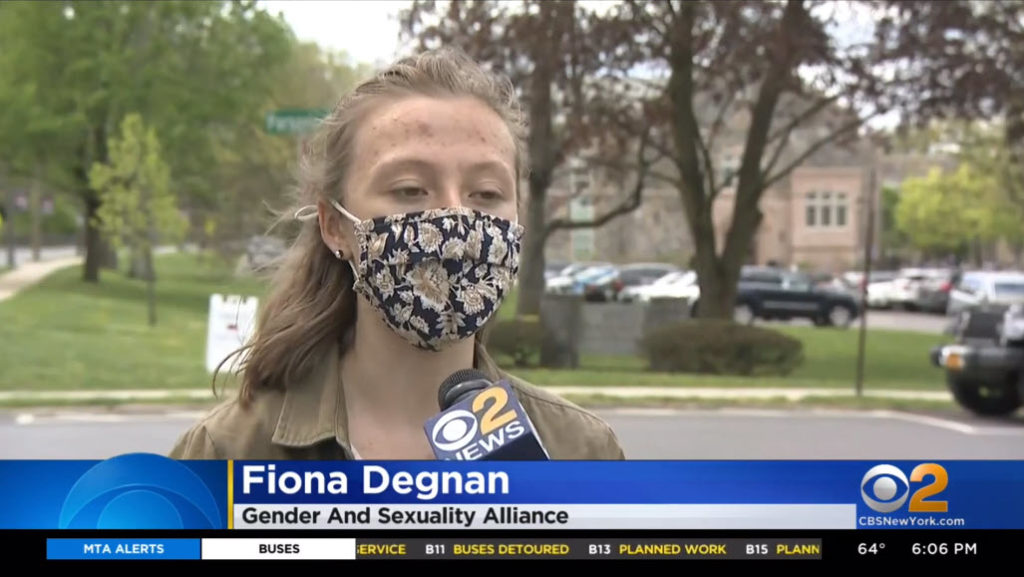 Pride Rye High School GSA Fiona Degnan
