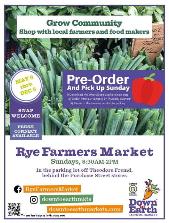 Rye Farmers Market 2021