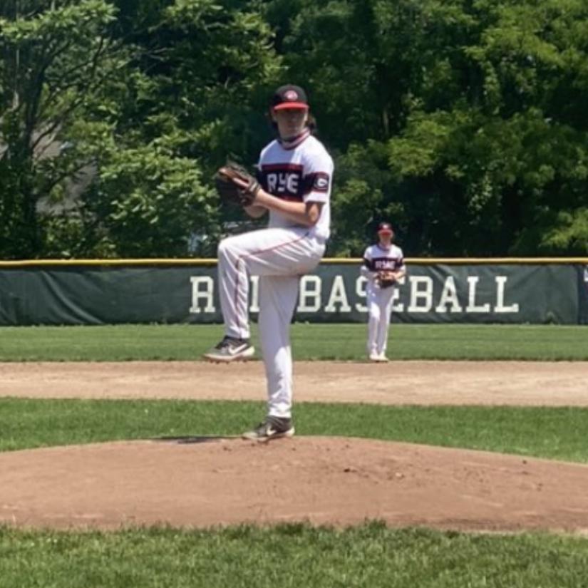 Rye Boys Varsity Baseball vs. Brewster 06-05-2021 --- 1 -- Ryan Surhoff