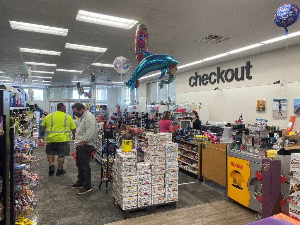 CVS checkout MC Purchase St Downtown Rye #0004 2021-05-17 CVS Pharmacy Interior Checkout Angle 1 IMG_0644