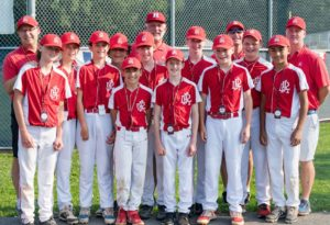 Rye Little League's 12U Tournament All Stars at States 2021-07-27