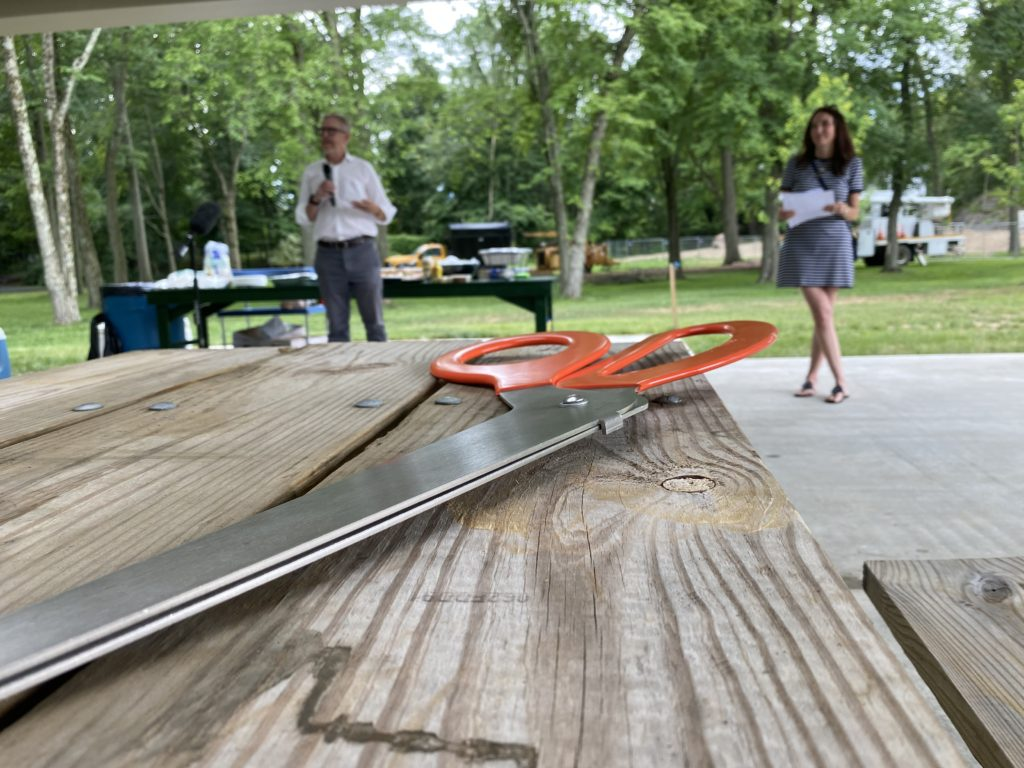 Rye Recreation ribbon cutting July 1, 2021 - 1