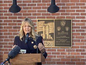20th anniversary 9-11 - 6 - Rye FD Chaplain Andrea Raynor IMG_2026