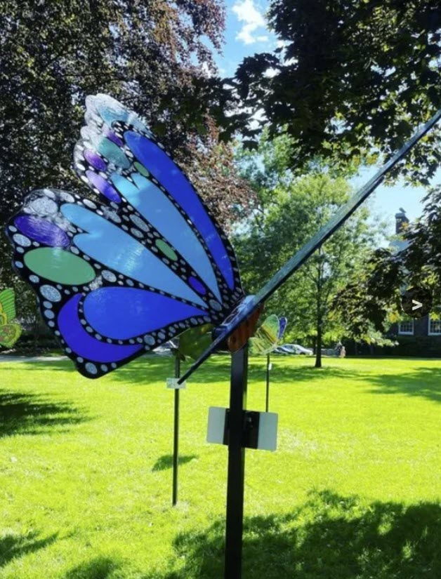Rye'sAbove butterfly auction at the Wainwright House 2021-09-21 - 4