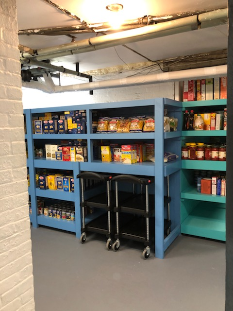 (PHOTO: The Bread of Life George to the Rescue renovation - after photo.)