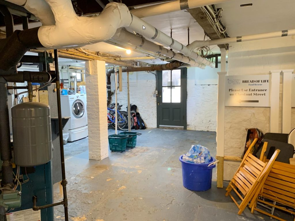 (PHOTO: The Bread of Life George to the Rescue renovation - before photo.)