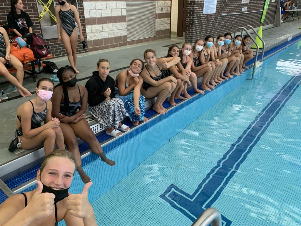 (PHOTO: The Rye Girls Varsity Swimming & Diving team.)