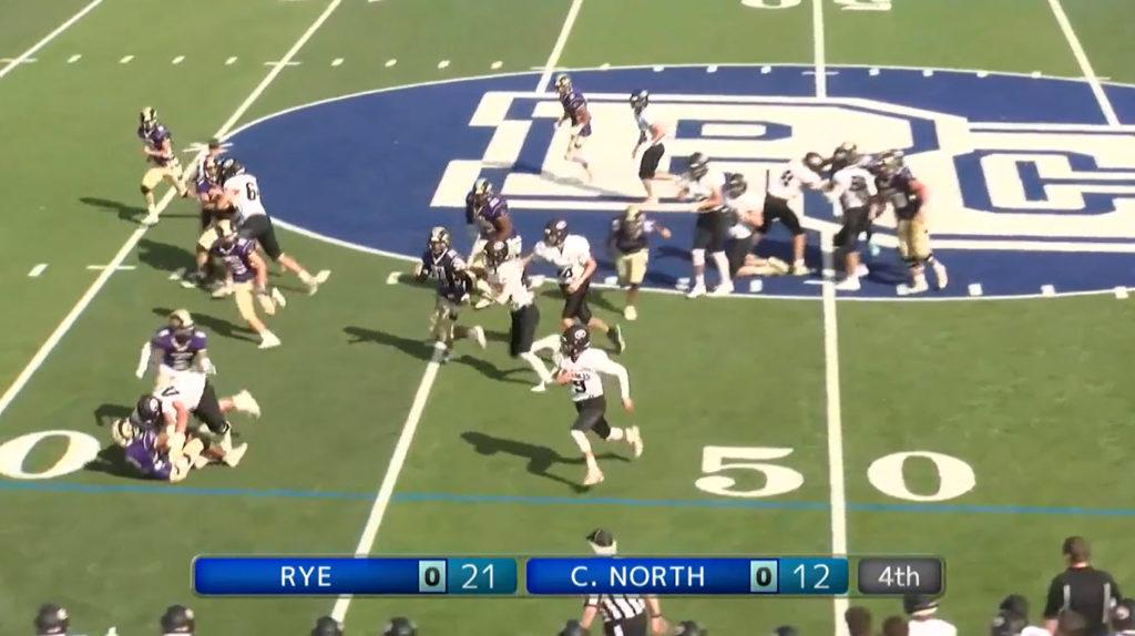 Rye Boys Varsity Football vs. Clarkstown North 2021-09-11
