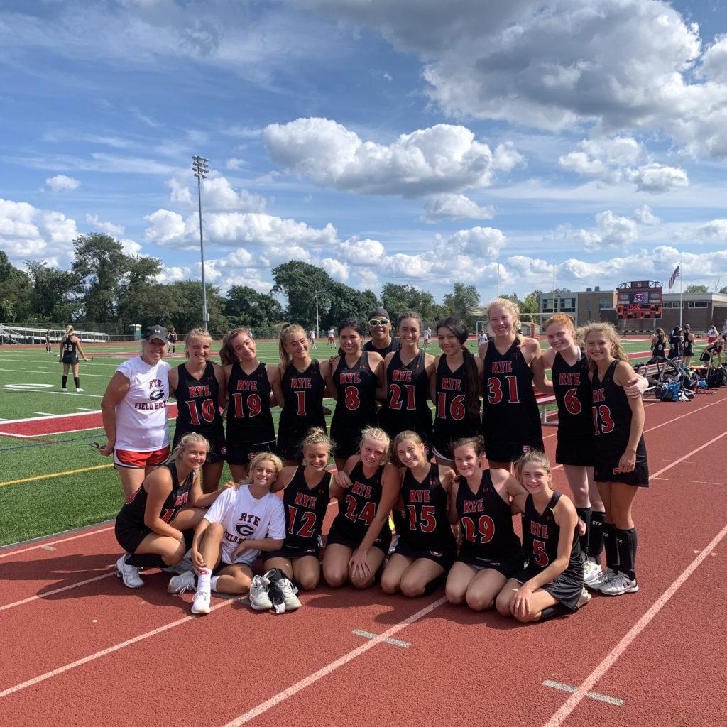 Rye Girls Varsity Field Hockey Team 2021 - 2