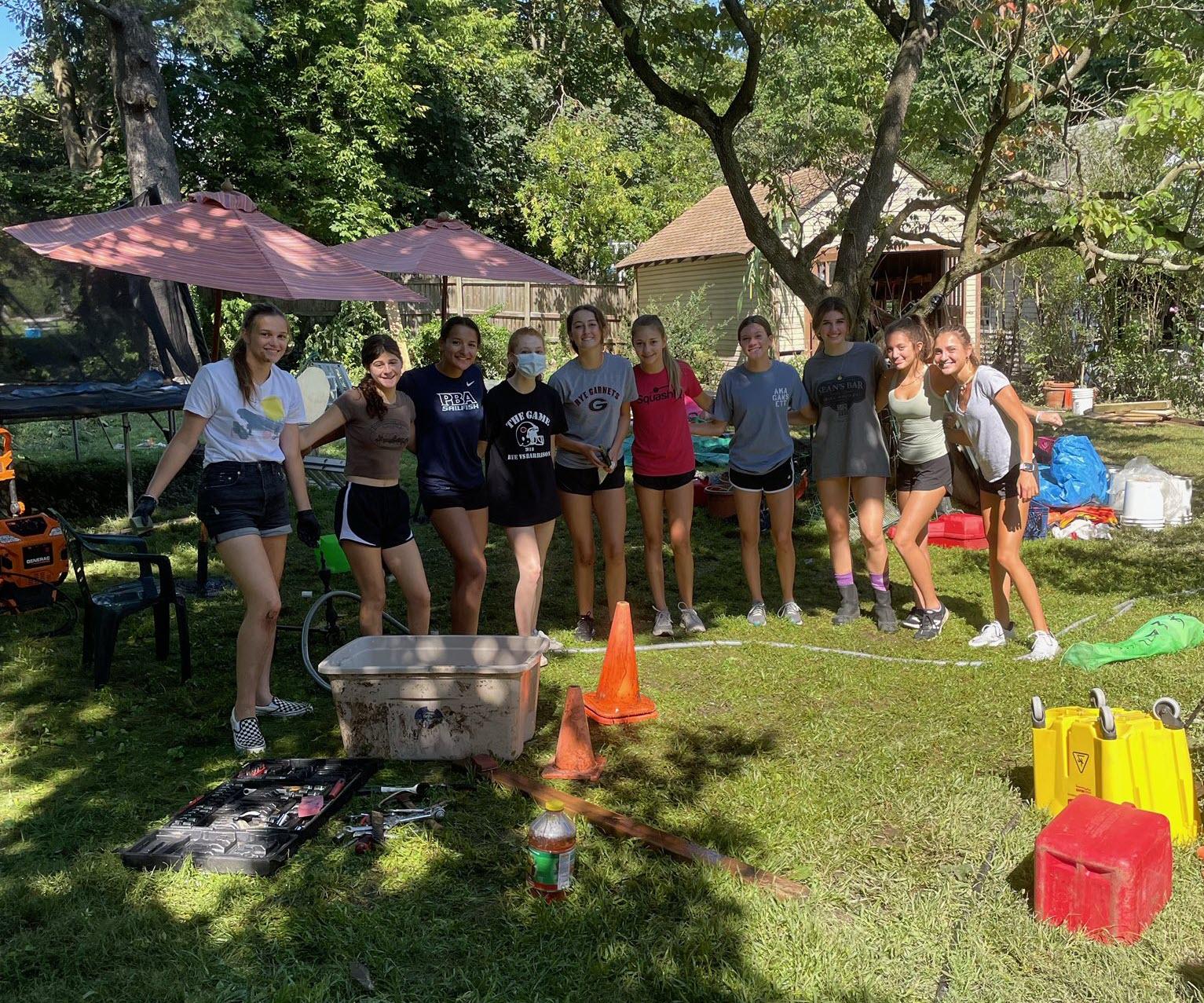 Junior Trio Leads Girls Volleyball - Pre-K to 12th Grade