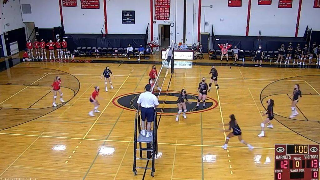 Rye Girls Volleyball vs. Byram Hills 2021-09-14