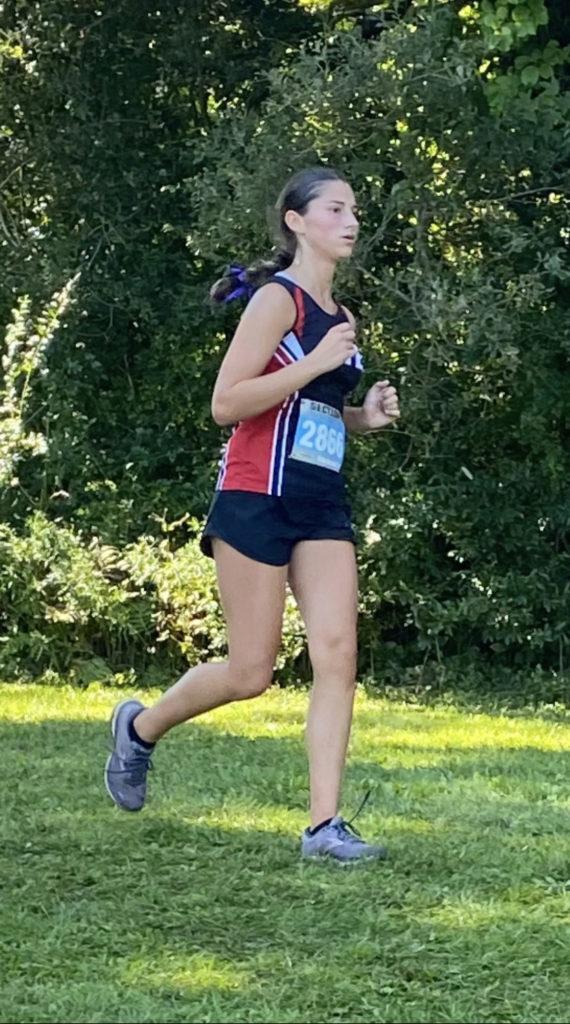 Rye Varsity Cross Country team member Sofia Sciulli 2021-09-11