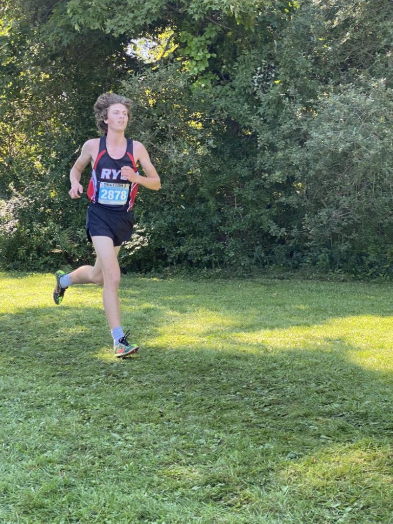 Rye Varsity Cross Country team member Will Squarek 2021-09-11