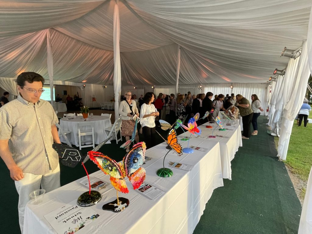 Rye'sAbove butterfly auction at the Wainwright House 2021-09-21 - 3
