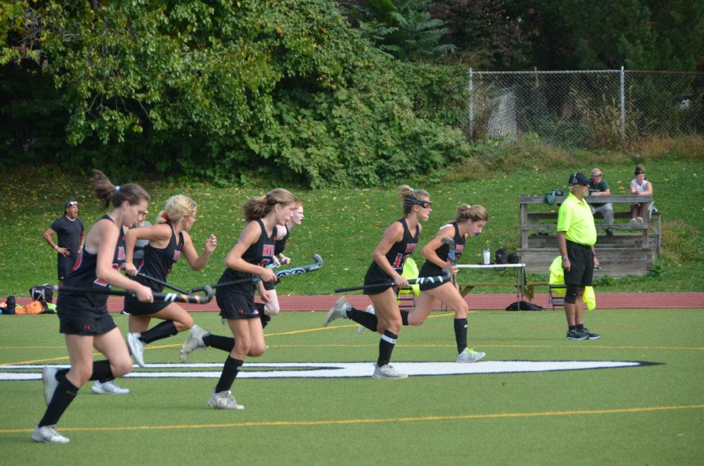 Rye Girls Varsity Field Hockey vs. Pleasantville 2021-10-11