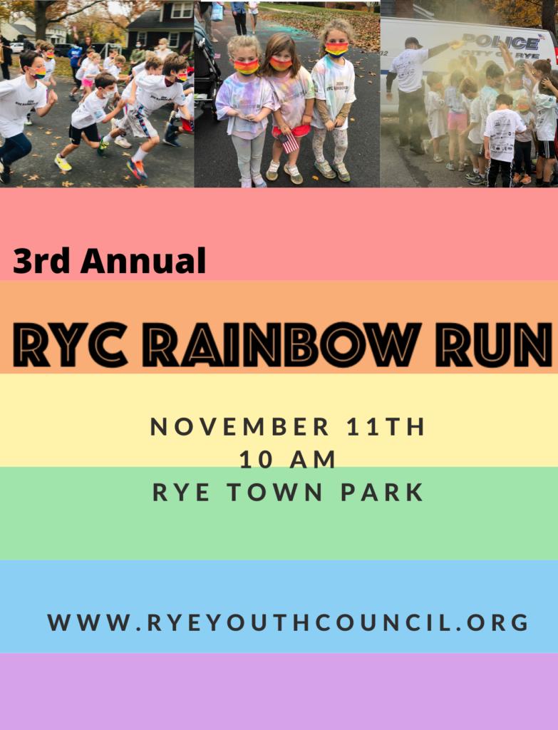 3rd annual RYC rainbow run 11.2.21