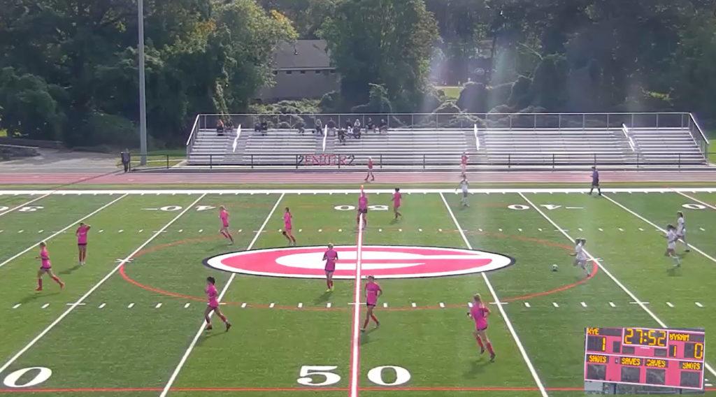 Rye Girls Varsity Soccer vs. Byram Hills 2021-10-11