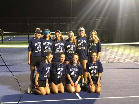 Rye Girls Varsity Tennis vs. Byram Hills - Section 1 doubles title 2021-10-13 -- 4